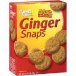 Great Value Gingerbread Mini Cookies