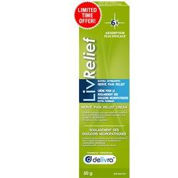 LivRelief - Extra Strength Nerve Pain Relief Cream