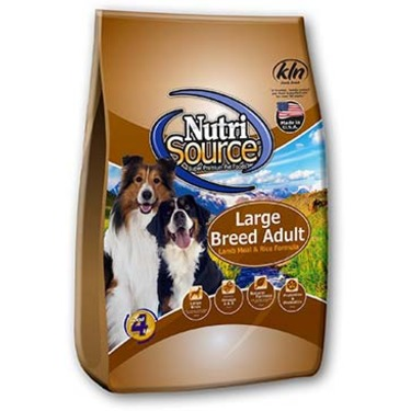 Nutrisource Large Breed Lamb Meal & Rice Dog Food