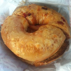 Tim Horton's Sundried Tomato Asiago Specialty Bagel