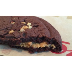Tim Horton's Double Chocolate Cookie with Peanut Butter Filling