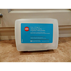 Life Brand 3-in-1 Cleansing Cloths