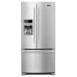 Maytag 21.7 cu. ft. French Door, Stainless Steel Fridge with water and ice dispencer
