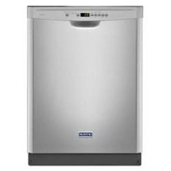 "Maytag 24"" Stainless Steel Large Capacity Dishwasher"