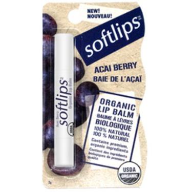Softlips® Organic Lip Balm - Acai Berry