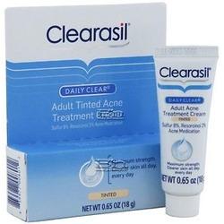 clearasil daily clear acne treatment  cream