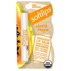 Softlips® Organic Lip Balm - Papaya