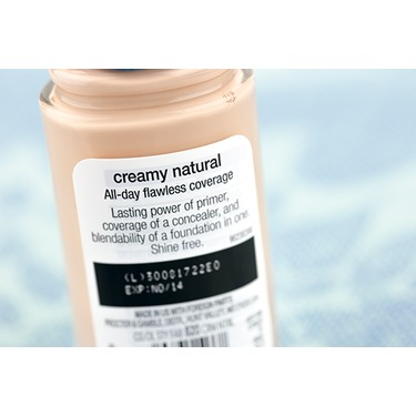 Cover girl creamy natural foundation