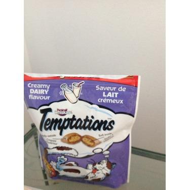 Whiskas Temptations Cat - Saveur lait crémeux