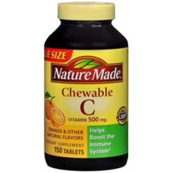 Nature Made Chewable Vitamin C 600mg