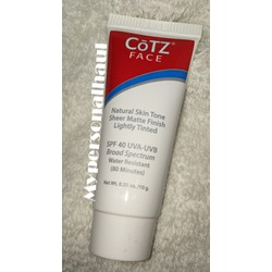 COTZ Face Natural Skintone SPF 40