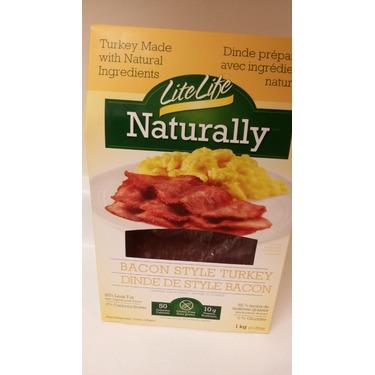 Lite Life Naturally Turkey Bacon