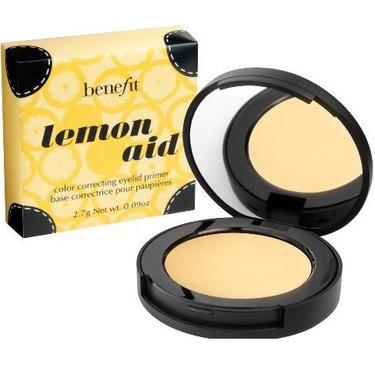 Benefit Cosmetics Lemon Aid Color Correcting Eyelid Primer