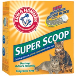 Arm & Hammer Super Scoop Clumping Cat Litter-Fragrance Free