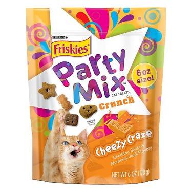 Friskies Party Mix Cheezy Craze Cat Treats