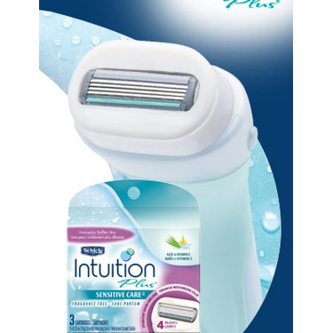 Schick Intuition Plus Shaving Kit Sensitive Skin