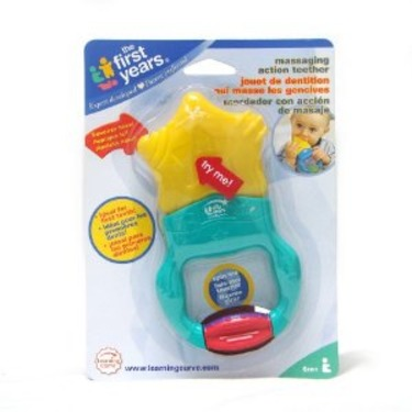 The first year massage action teether