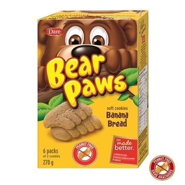 bear paw banana flavoured
