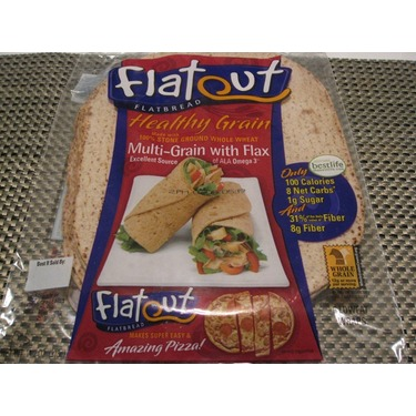 Flatout Flatbread- Multi-grain with flax