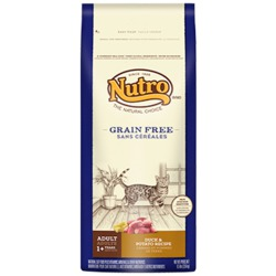 Nutro Grain Free Duck And Potato Cat Food Review