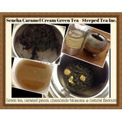 Steeped Tea Sencha Caramel Cream - Green Tea