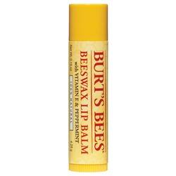 Burt's Bees Beeswax Lip Balm with Vitamin E & Peppermint