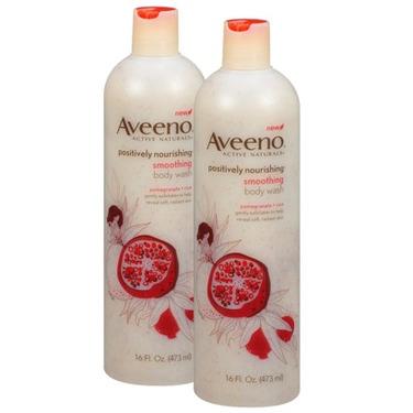 Aveeno positively nourishing smoothing body wash