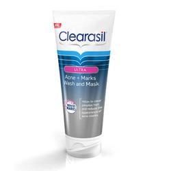 Clearasil Acne + Marks Wash & Mask