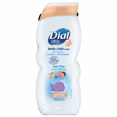 Dial Kids Body + Hair Wash, Peachy Clean
