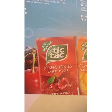 Tic  Tac Cherry Cola
