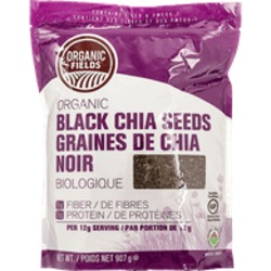 Organic Fields Organic Black Chia seeds