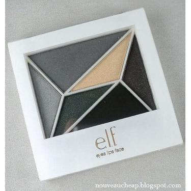 e.l.f 6 Piece Eyeshadow Compact Smoky