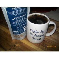 David's Blueberry Jam Loose Black Organic Tea
