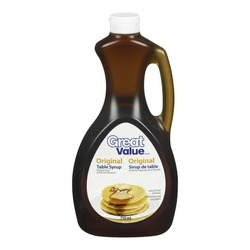 Great Value Original Table Syrup