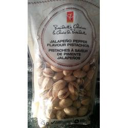 Presidents choice Jalapeño pepper flavour pistachios