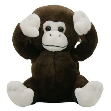 "Peek-a-boo Animated Monkey 8"""