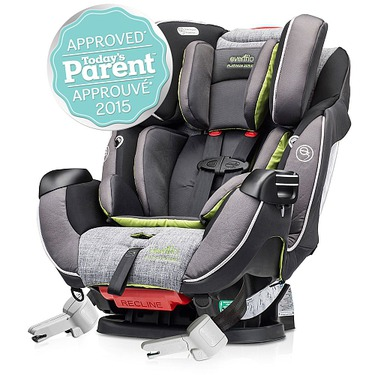 Evenflo Symphony DLX Platinum Protection Series All in One Car Seat - Tennison