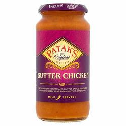 Patak's Butter Chicken Cooking Sauce
