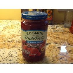 E.D. Smith triple fruits strawberry with raspberry & plum jam