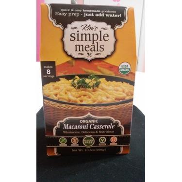 Kim's Simple Meals Organic Mac N Cheese