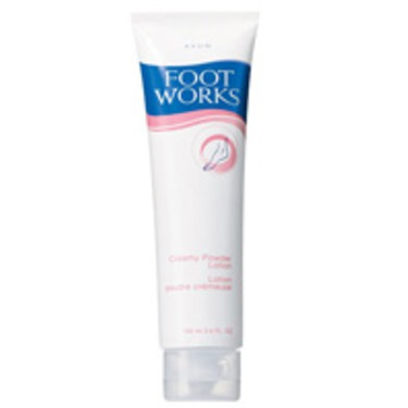 Avon Foot Works Creamy Powder Lotion