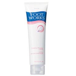 Avon Foot Works Creamy Powder Lotion