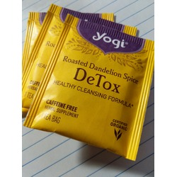 Yogi Tea Roasted Dandelion Spice Detox