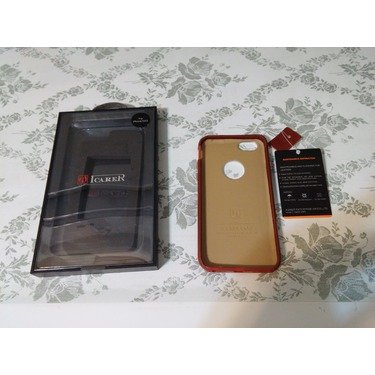 ICARER Luxury Real Leather iPhone 6 Leather Case
