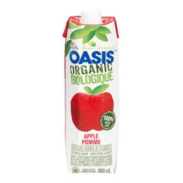 Oasis Organic Apple Juice