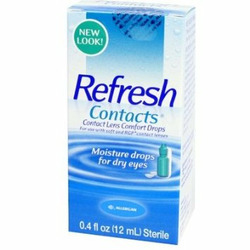 Refresh Contacts Lubricating Eye Drops (Bottle)
