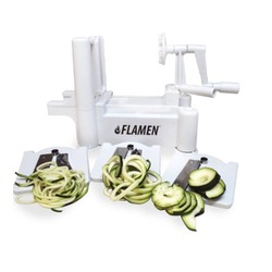 Flamen quality vegetable and fruit spiralizer