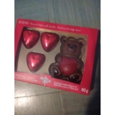 Carnaby Milk Chocolate Bear and Hearts