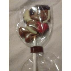 Carnaby Milk Chocolate Lollipop