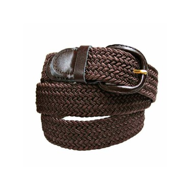 Luxury Divas Braided Elastic Stretch Belt